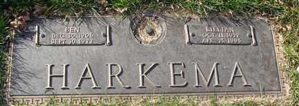HARKEMA, BEN - Minnehaha County, South Dakota   BEN HARKEMA - South Dakota Gravestone Photos