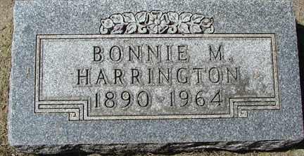 HARRINGTON, BONNIE M. - Minnehaha County, South Dakota | BONNIE M. HARRINGTON - South Dakota Gravestone Photos