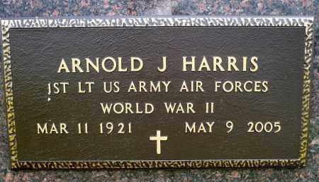 HARRIS, ARNOLD J. (WWII) - Minnehaha County, South Dakota | ARNOLD J. (WWII) HARRIS - South Dakota Gravestone Photos