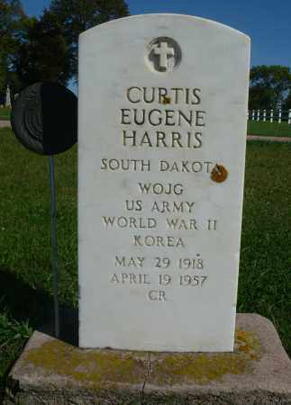 HARRIS, CURTIS EUGENE (WWII) - Minnehaha County, South Dakota | CURTIS EUGENE (WWII) HARRIS - South Dakota Gravestone Photos