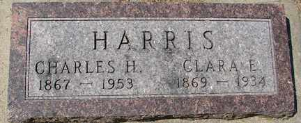 HARRIS, CHARLES H. - Minnehaha County, South Dakota | CHARLES H. HARRIS - South Dakota Gravestone Photos