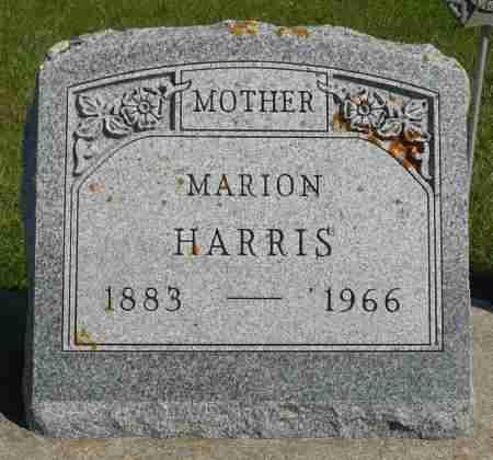 HARRIS, MARION - Minnehaha County, South Dakota | MARION HARRIS - South Dakota Gravestone Photos