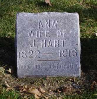 HART, ANN - Minnehaha County, South Dakota   ANN HART - South Dakota Gravestone Photos