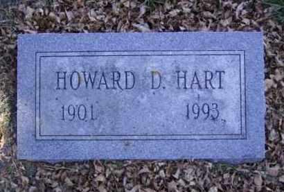 HART, HOWARD D. - Minnehaha County, South Dakota | HOWARD D. HART - South Dakota Gravestone Photos