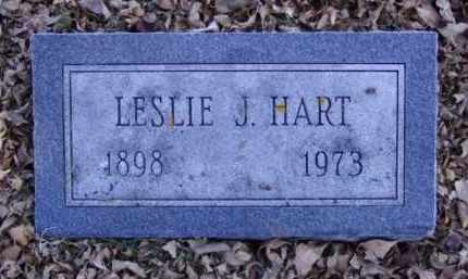 HART, LESLIE J. - Minnehaha County, South Dakota   LESLIE J. HART - South Dakota Gravestone Photos
