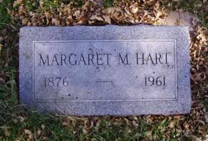 HART, MARGARET M. - Minnehaha County, South Dakota | MARGARET M. HART - South Dakota Gravestone Photos