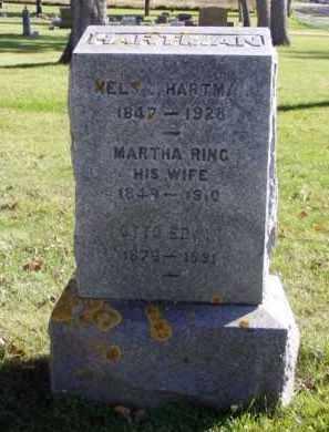 HARTMAN, NELS - Minnehaha County, South Dakota | NELS HARTMAN - South Dakota Gravestone Photos