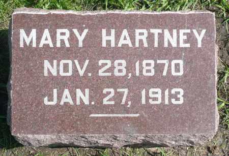 HARTNEY, MARY - Minnehaha County, South Dakota | MARY HARTNEY - South Dakota Gravestone Photos