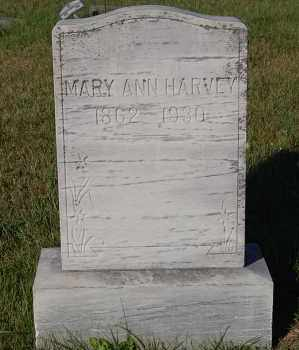 HARVEY, MARY ANN - Minnehaha County, South Dakota | MARY ANN HARVEY - South Dakota Gravestone Photos