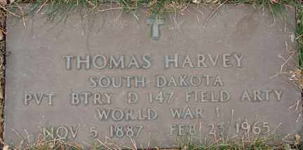 HARVEY, THOMAS (WWI) - Minnehaha County, South Dakota | THOMAS (WWI) HARVEY - South Dakota Gravestone Photos