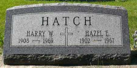 HATCH, HAZEL E. - Minnehaha County, South Dakota | HAZEL E. HATCH - South Dakota Gravestone Photos