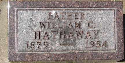 HATHAWAY, WILLIAM C. - Minnehaha County, South Dakota | WILLIAM C. HATHAWAY - South Dakota Gravestone Photos