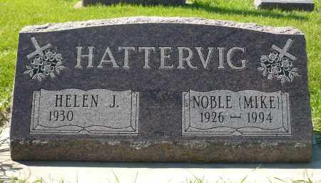 "HATTERVIG, NOBLE ""MIKE"" - Minnehaha County, South Dakota 