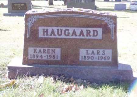 HAUGAARD, KAREN - Minnehaha County, South Dakota | KAREN HAUGAARD - South Dakota Gravestone Photos