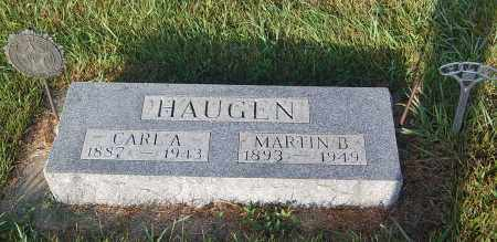 HAUGEN, MARTIN B. - Minnehaha County, South Dakota | MARTIN B. HAUGEN - South Dakota Gravestone Photos