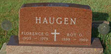 HAUGEN, FLORENCE G. - Minnehaha County, South Dakota | FLORENCE G. HAUGEN - South Dakota Gravestone Photos