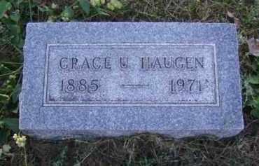 HAUGEN, GRACE U. - Minnehaha County, South Dakota   GRACE U. HAUGEN - South Dakota Gravestone Photos