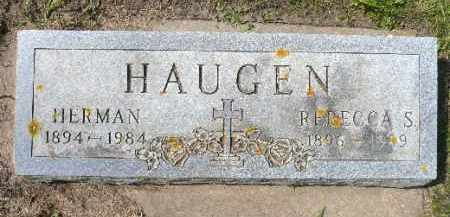 HAUGEN, HERMAN - Minnehaha County, South Dakota   HERMAN HAUGEN - South Dakota Gravestone Photos