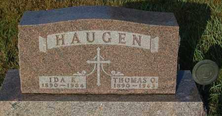 HAUGEN, IDA K. - Minnehaha County, South Dakota | IDA K. HAUGEN - South Dakota Gravestone Photos