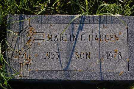 HAUGEN, MARLIN G. - Minnehaha County, South Dakota | MARLIN G. HAUGEN - South Dakota Gravestone Photos