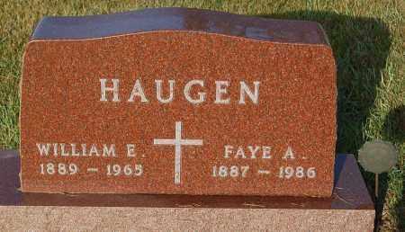 HAUGEN, FAYE A. - Minnehaha County, South Dakota   FAYE A. HAUGEN - South Dakota Gravestone Photos