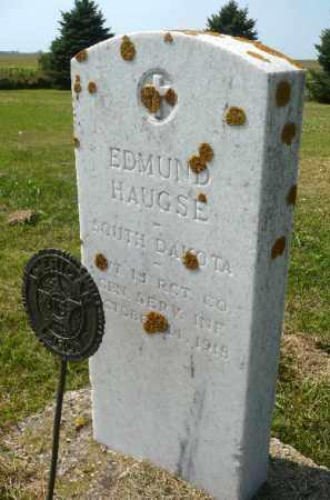 HAUGSE, EDMUND K. (MILITARY) - Minnehaha County, South Dakota | EDMUND K. (MILITARY) HAUGSE - South Dakota Gravestone Photos
