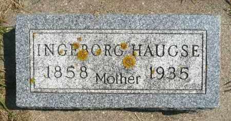 HAUGSE, INGEBORG - Minnehaha County, South Dakota | INGEBORG HAUGSE - South Dakota Gravestone Photos