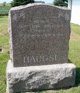 HAUGSE, INGVAL K. - Minnehaha County, South Dakota | INGVAL K. HAUGSE - South Dakota Gravestone Photos