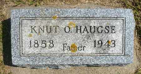 HAUGSE, KNUT O. - Minnehaha County, South Dakota   KNUT O. HAUGSE - South Dakota Gravestone Photos