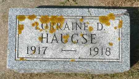 HAUGSE, LORRAINE D. - Minnehaha County, South Dakota | LORRAINE D. HAUGSE - South Dakota Gravestone Photos
