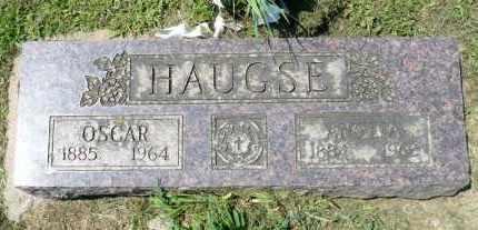 HAUGSE, OSCAR - Minnehaha County, South Dakota   OSCAR HAUGSE - South Dakota Gravestone Photos