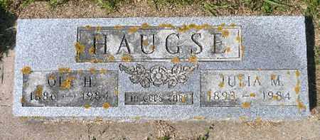 HAUGSE, JULIA M. - Minnehaha County, South Dakota | JULIA M. HAUGSE - South Dakota Gravestone Photos
