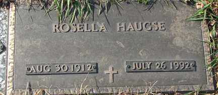 HAUGSE, ROSELLA - Minnehaha County, South Dakota   ROSELLA HAUGSE - South Dakota Gravestone Photos