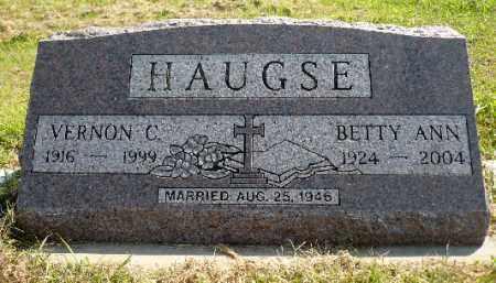 HAUGSE, BETTY ANN - Minnehaha County, South Dakota | BETTY ANN HAUGSE - South Dakota Gravestone Photos