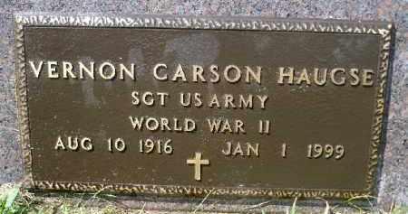 HAUGSE, VERNON CARSON (WWII) - Minnehaha County, South Dakota | VERNON CARSON (WWII) HAUGSE - South Dakota Gravestone Photos