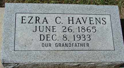 HAVENS, EZRA C. - Minnehaha County, South Dakota | EZRA C. HAVENS - South Dakota Gravestone Photos