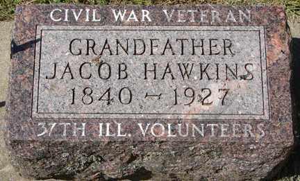 HAWKINS, JACOB (CIVIL WAR) - Minnehaha County, South Dakota   JACOB (CIVIL WAR) HAWKINS - South Dakota Gravestone Photos
