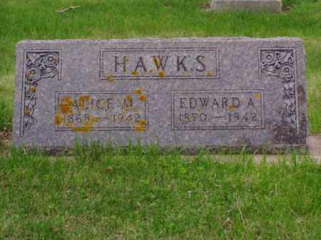 HAWKS, EDWARD ALLEN - Minnehaha County, South Dakota | EDWARD ALLEN HAWKS - South Dakota Gravestone Photos