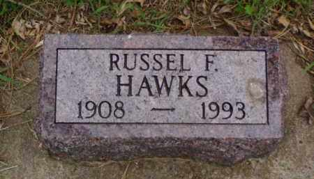 HAWKS, RUSSEL F. - Minnehaha County, South Dakota | RUSSEL F. HAWKS - South Dakota Gravestone Photos