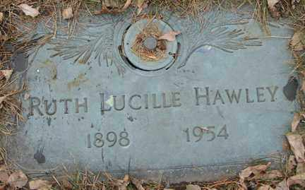 HAWLEY, RUTH LUCILLE - Minnehaha County, South Dakota | RUTH LUCILLE HAWLEY - South Dakota Gravestone Photos