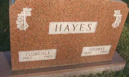 HAYES, THOMAS - Minnehaha County, South Dakota | THOMAS HAYES - South Dakota Gravestone Photos