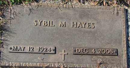CONKLIN HAYES, SYBIL M. - Minnehaha County, South Dakota | SYBIL M. CONKLIN HAYES - South Dakota Gravestone Photos