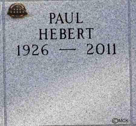 HEBERT, PAUL - Minnehaha County, South Dakota | PAUL HEBERT - South Dakota Gravestone Photos