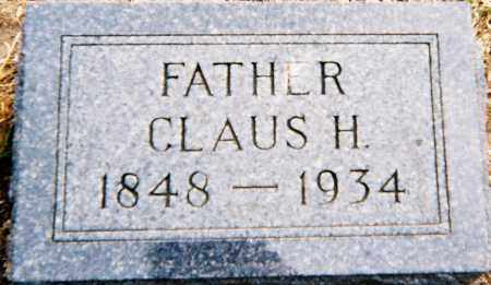 HEESCH, CLAUS HEINRICH - Minnehaha County, South Dakota | CLAUS HEINRICH HEESCH - South Dakota Gravestone Photos