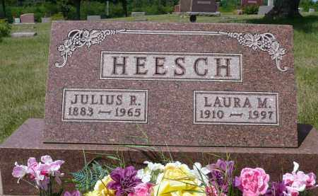 HEESCH, JULIUS R. - Minnehaha County, South Dakota | JULIUS R. HEESCH - South Dakota Gravestone Photos