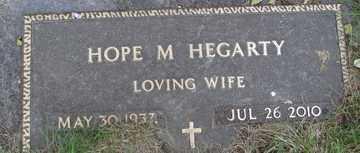 HEGARTY, HOPE M. - Minnehaha County, South Dakota   HOPE M. HEGARTY - South Dakota Gravestone Photos