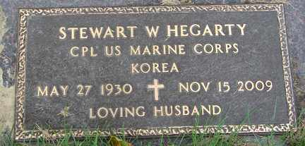HEGARTY, STEWART W. (KOREA) - Minnehaha County, South Dakota | STEWART W. (KOREA) HEGARTY - South Dakota Gravestone Photos