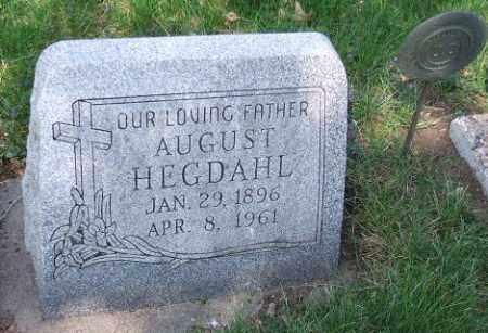 HEGDAHL, AUGUST - Minnehaha County, South Dakota | AUGUST HEGDAHL - South Dakota Gravestone Photos