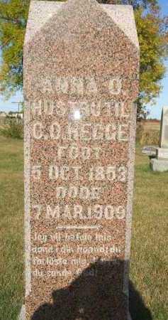 HEGGE, ANNA OLINE - Minnehaha County, South Dakota | ANNA OLINE HEGGE - South Dakota Gravestone Photos