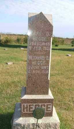 HEGGE, CARL JOHAN OLSEN - Minnehaha County, South Dakota | CARL JOHAN OLSEN HEGGE - South Dakota Gravestone Photos